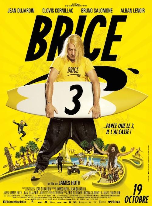Brice 3 : découvrez l'affiche définitive