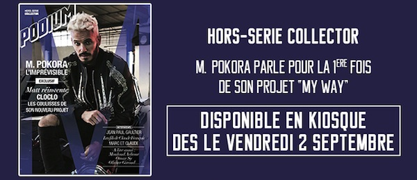 "Matt Pokora présente le magazine ""Podium"" (VIDEO)"