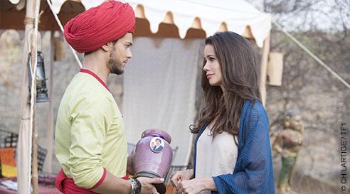 """Ce soir à la télé : """"Coup de foudre à Jaipur"""" avec Rayane Bensetti et Lucie Lucas"""
