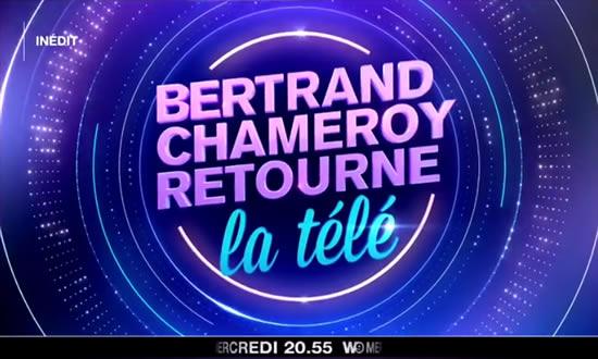 Bertrand Chameroy retourne la télé