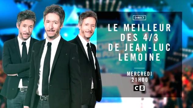 Ce soir à la télé : Le meilleur des 4/3 de Jean-Luc Lemoine en direct