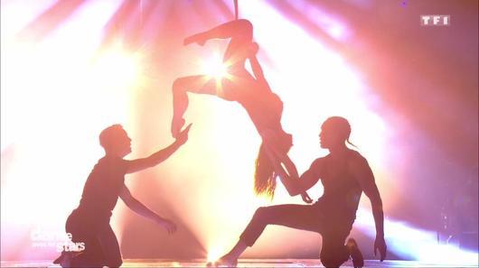 Danse avec les Stars 7 : Laurnent Maistret, Denitsa, et Loïc Nottet (capture TF1)