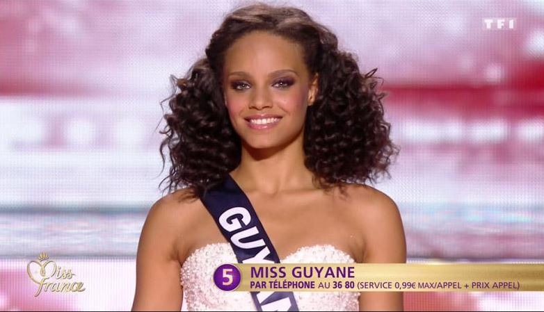 Miss Guyane Alicia Aylies élue Miss France 2017 (résumé + replay du 17 décembre)
