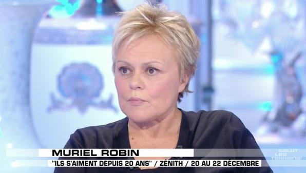 "Muriel Robin raconte son malaise dans ""Salut les Terriens"" (VIDEO)"