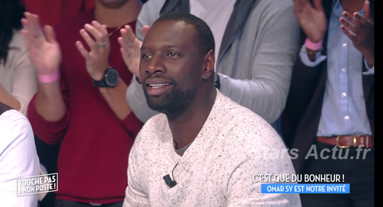 Audience Touche pas à mon poste avec Omar SY (capture C8)