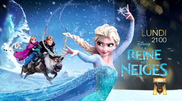 La Reine des Neiges - Capture écran M6 © The Walt Disney Company""