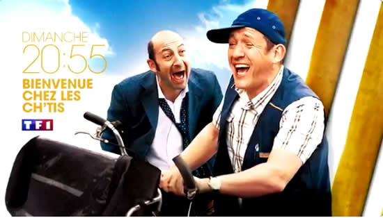Ce soir TF1 rediffuse « Bienvenue chez les Ch'tis » (vidéo)
