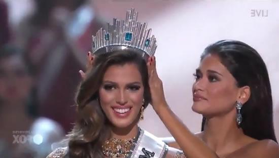 La Française Iris Mittenaere a été sacrée Miss Univers (VIDEO)