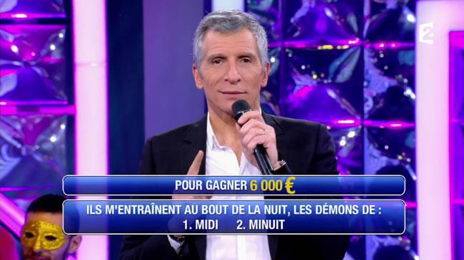 N'oubliez pas les paroles (capture écran France2)