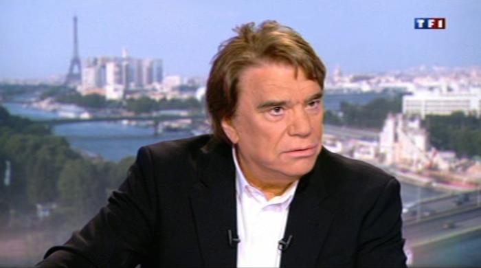 Bernard Tapie s'exprime à propos de François Fillon