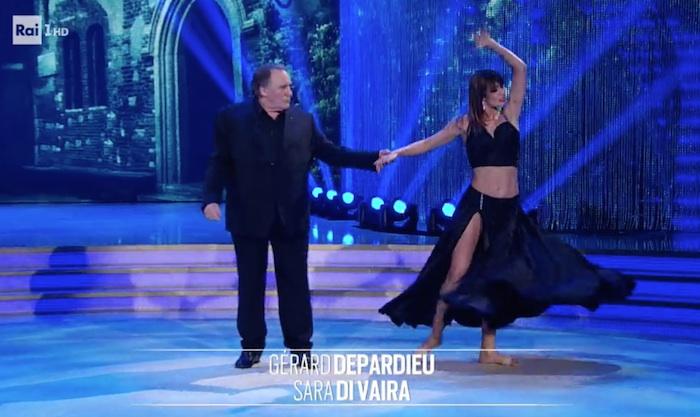 Gérard Depardieu dans Danse avec les Stars... en Italie (VIDEO)