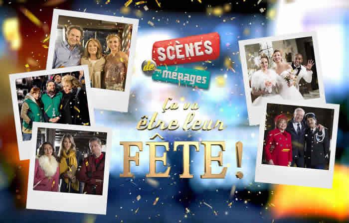 Ce soir à la télé : Scènes de ménages, Cédric et Marion se marient