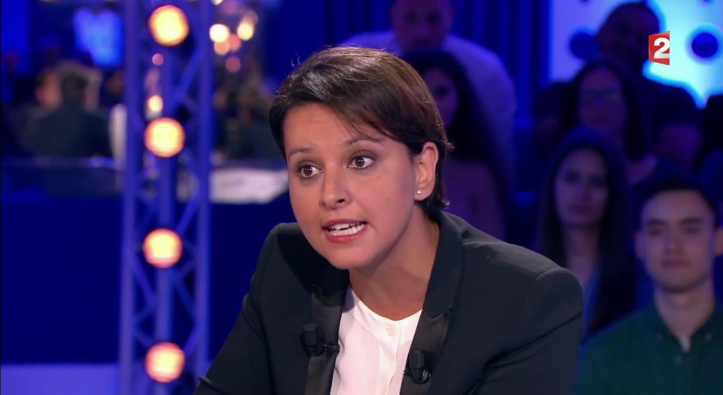 """Najat Vallaud-Belkacem dans """"On n'est pas couché"""""""