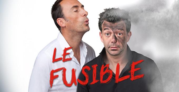 """Stéphane Plaza et Arnaud Gidoin dans """"Le Fusible"""""""