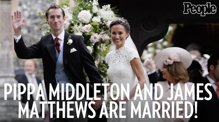 Pippa Middleton est mariée à James Matthews (VIDEO)