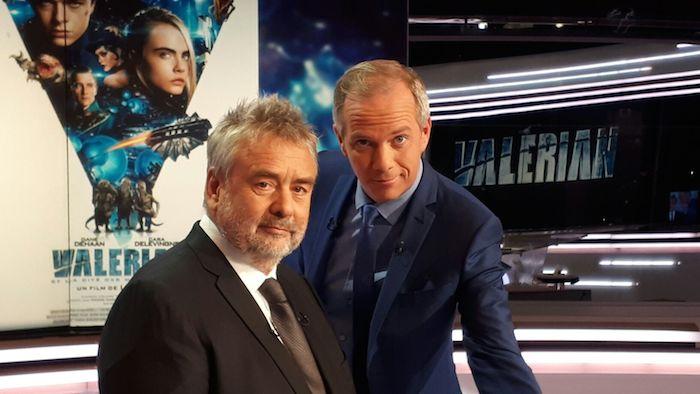 Sortie de Valérian : Luc Besson invité du 20h de TF1 ce mardi