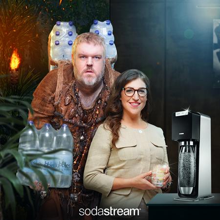Un acteur de Game of Thrones dans la nouvelle campagne Sodastream