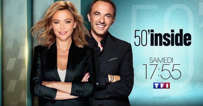 Camille Lacourt au sommaire de 50'Inside du 2 septembre 2017