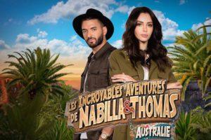 Les Incroyables Aventures de Nabilla et Thomas en Australie du 4 septembre 2017 en replay streaming gratuit