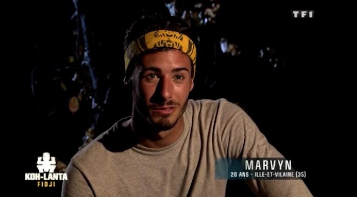"""Koh-Lanta Fidji : éliminé, Marvyn se confie """"je me suis bien fait avoir"""" (INTERVIEW VIDEO)"""