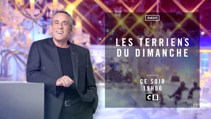 Thierry Ardisson adresse un doigt d'honneur à Twitter — Squeezie dans