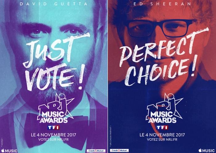 NRJ Music Awards 2017 : la liste complète des nominés dévoilée !