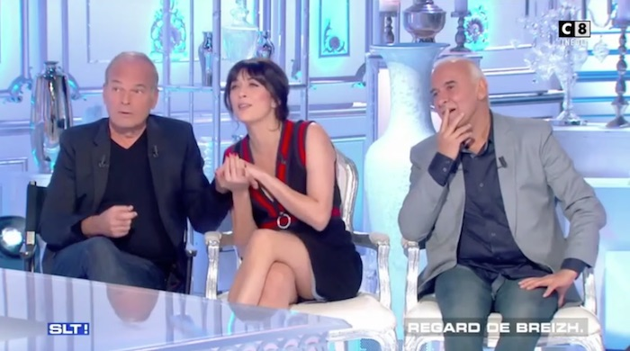 """Baffie soulève la robe de Nolwenn, Thierry Ardisson au CSA : """"je fais ce que je veux !"""""""