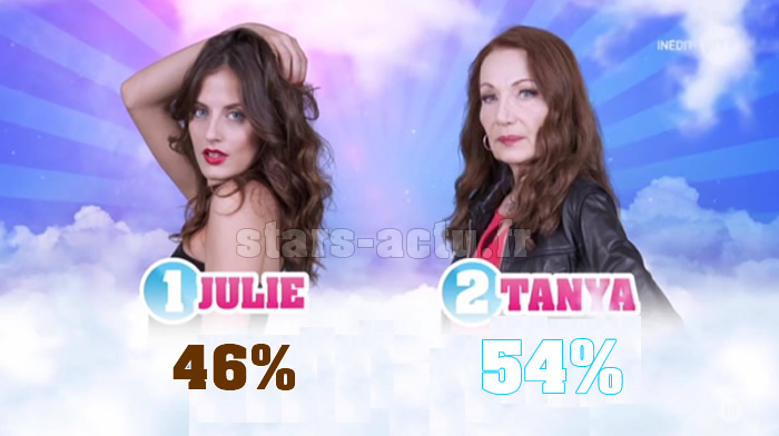 Secret Story 11 estimations : Tanya toujours en avance sur Julie (SONDAGE)