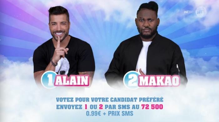 Secret Story 11 : Alain et Makao nominés (SONDAGE)