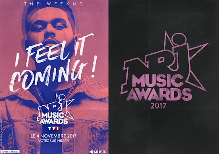 NRJ Music Awards 2017 : liste des nominés, The Weeknd sera là