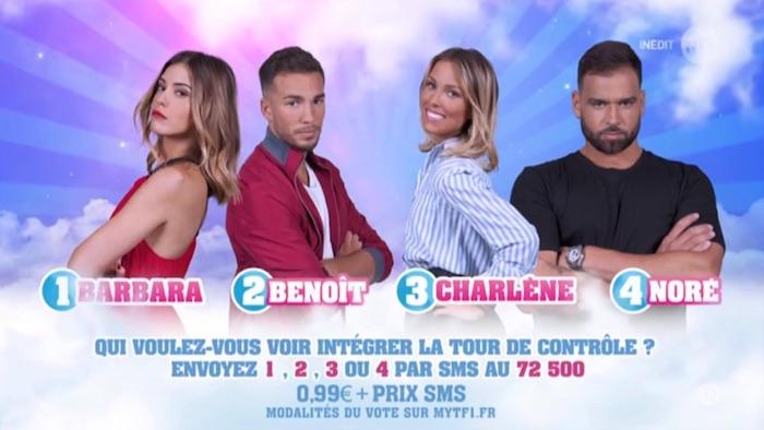 Secret Story 11 : Barbara, Benoit, Noré et Charlène nominés (SONDAGE)