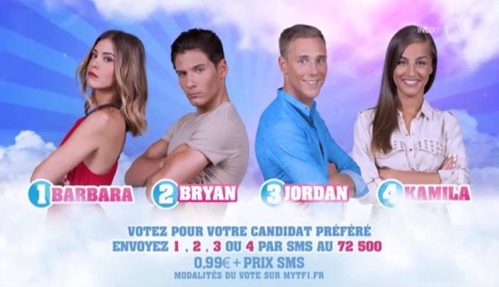 Secret Story 11 : Barbara, Bryan, Jordan et Kamila nominés (SONDAGE)