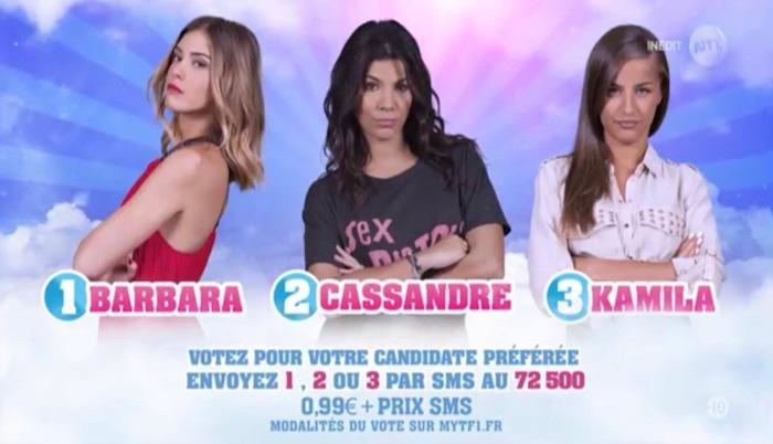 Secret Story 11 : Barbara, Cassandre et Kamila nominées (SONDAGE)