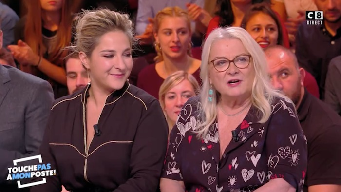 TPMP : Josiane Balasko défend sa fille Mari­lou Berry (VIDEO)
