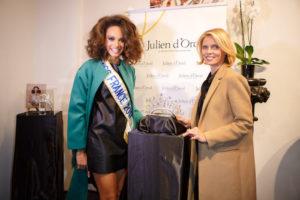 Miss France 2018 : Alicia Aylies et Sylvie Tellier dévoilent la nouvelle couronne