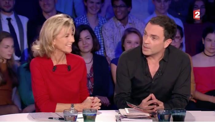 Yann Moix tacle Claire Chazal dans On n'est pas couché (VIDEO)