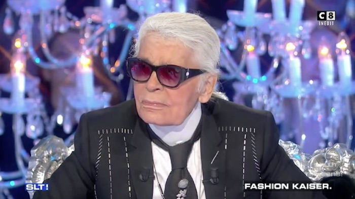 Salut les Terriens : quand Karl Lagerfeld parle des migrants (VIDEO)