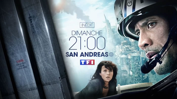 Audiences prime 26 janvier : TF1 leader avec « San Andreas » devant France 2 avec « La fille du train»