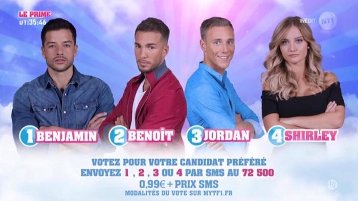 Secret Story 11 : Jordan, Benjamin, Shirley et Benoit nominés (SONDAGE)