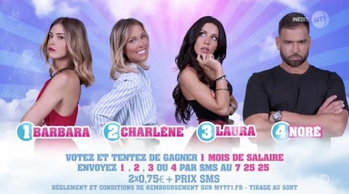 Secret Story 11 : Barbara, Charlène, Laura et Noré finalistes (SONDAGE)
