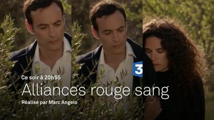"""Anthony Delon dans """"Alliances rouge sang"""" (capture france 3)"""