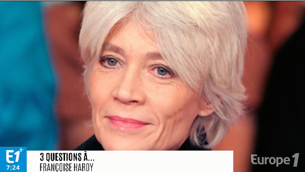 Françoise Hardy rend hommage à France Gall