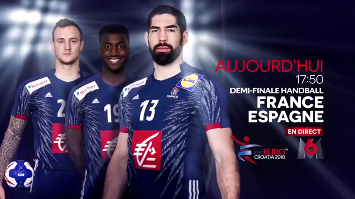 handball la demi finale de l ehf euro masculin france espagne en direct live et streaming. Black Bedroom Furniture Sets. Home Design Ideas