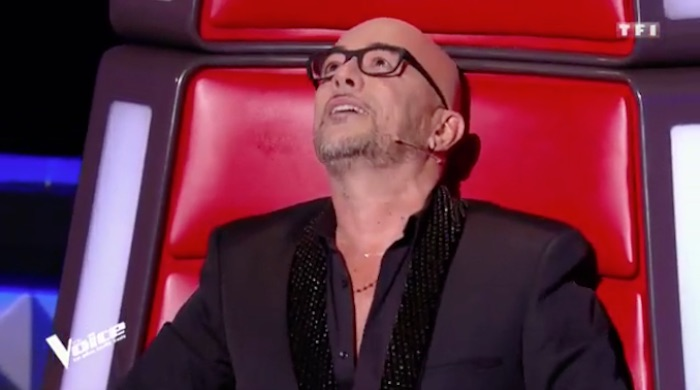 "The Voice 7 : Pascal Obispo en larmes devant une reprise de ""Lucie"" (VIDEO)"