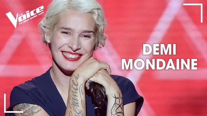The Voice 7 : L'incroyable prestation rock de Demi Mondaine (vidéo)