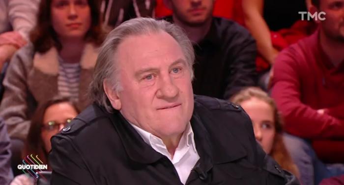 Gérard Depardieu dans Quotidien