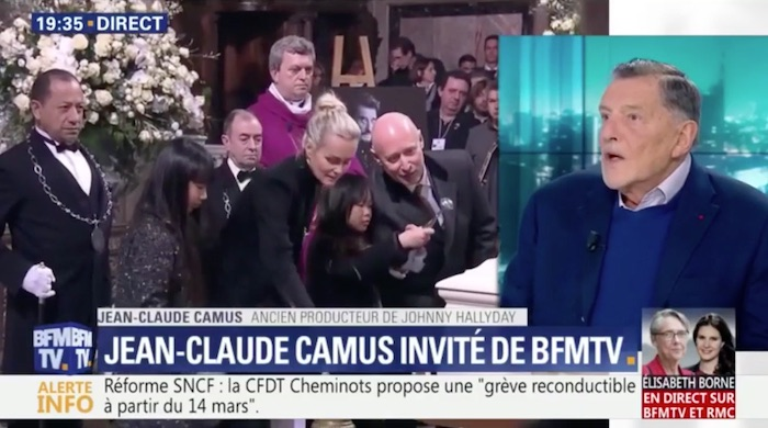 Héritage de Johnny Hallyday : Jean-Claude Camus défend Laeticia (VIDEO)