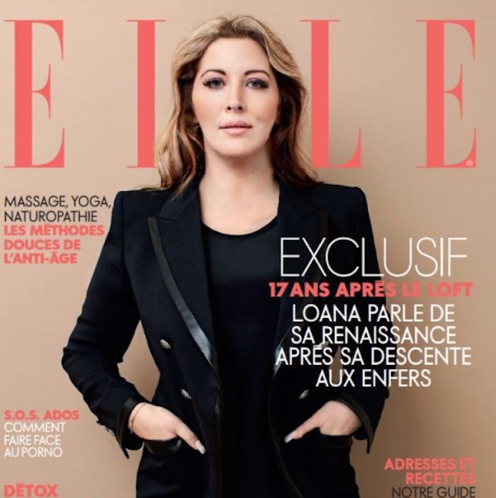 Loana métamorphosée et amincie en couverture de ELLE (PHOTO)