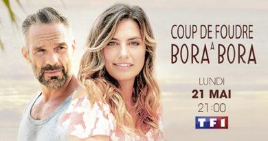 """""""Coup de foudre à Bora Bora"""" avec Laetitia Milot et Philippe Bas le 21 mai"""