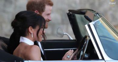 Meghan Markle a rendu hommage à Lady Di après son mariage avec Harry (VIDEO)
